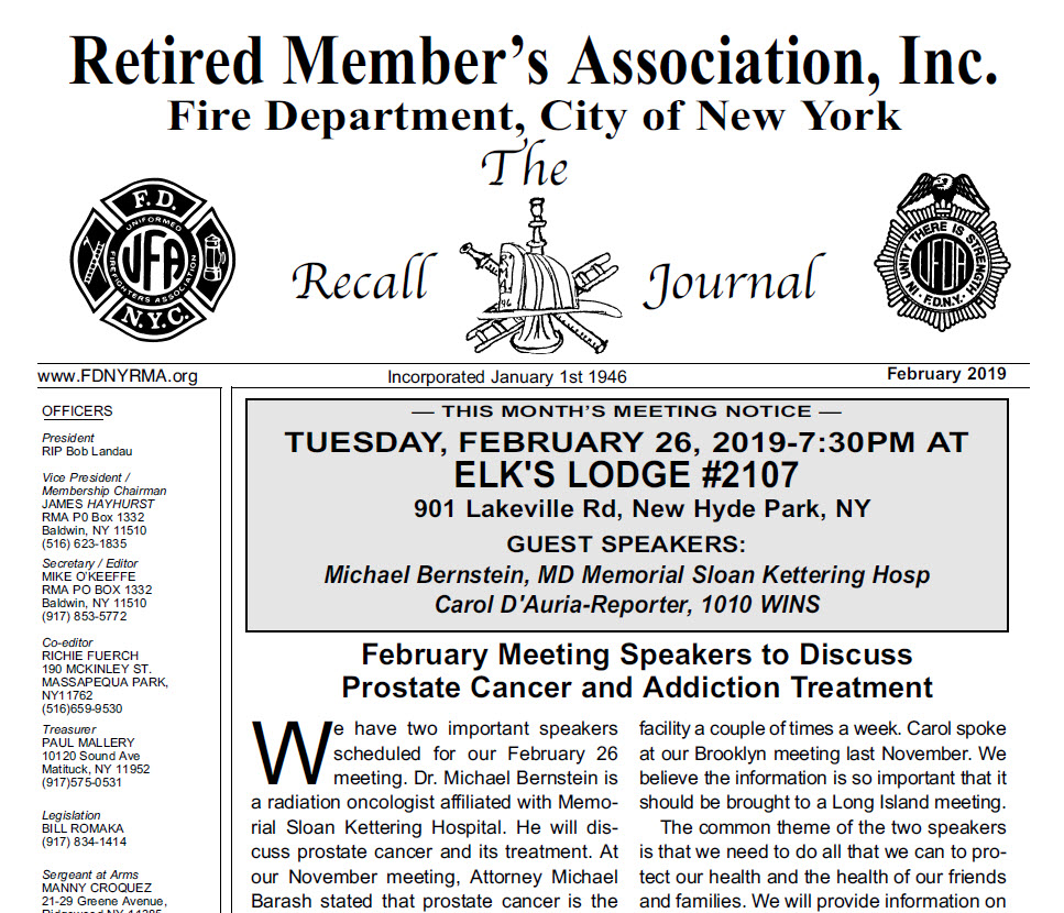 Michael Barasch and Richard Alles Featured in Retired